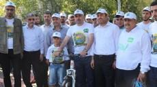 Kudüs için başlatılan 'bisiklet turu' sona erdi