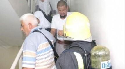 Mekke'de Türkler'in kaldığı otelde yangın!