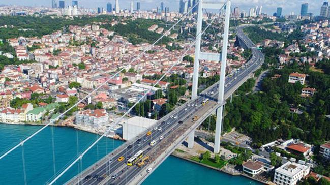 15 Temmuz Şehitler Köprüsü bugün 6 şeritle trafiğe açılacak