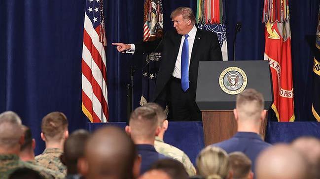 Trump yeni Afganistan stratejisini açıkladı