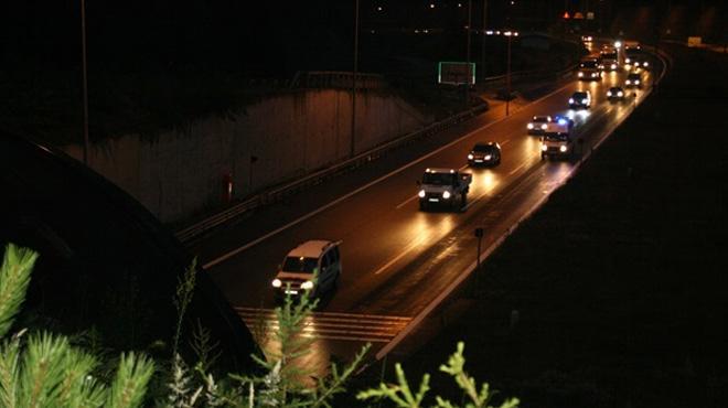Gece yola çıkacak sürücülere uyarı