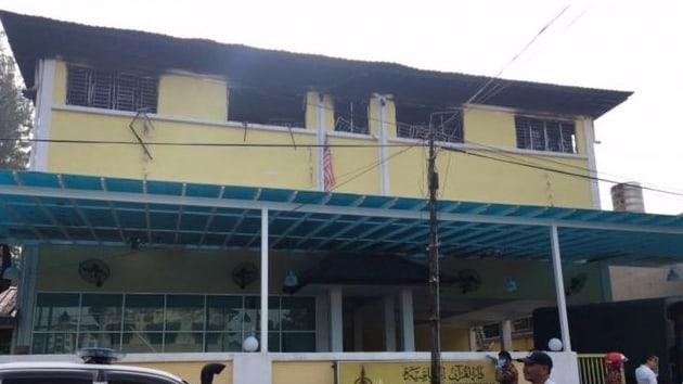Kuala Lumpur'da bir okulda yangın çıktı 25 ölü