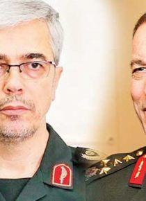 İki komutan referandumu görüştü