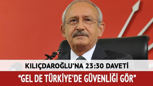 'Kılıçdaroğlu'nu Vali Yolu Caddesi'nde gezmeye davet ediyorum'