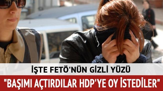 FETÖ evinde HDP'ye oy istemişler