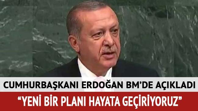 Cumhurbaşkanı Erdoğan: İdlib'te yeni bir planı hayata geçiriyoruz