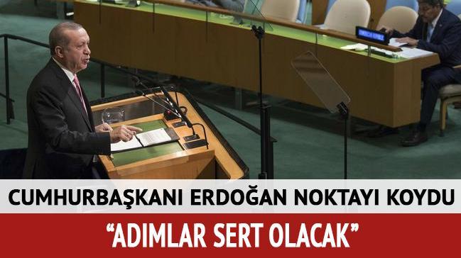 Cumhurbaşkanı Erdoğan'dan referandum açıklaması: Adımlar sert olacak