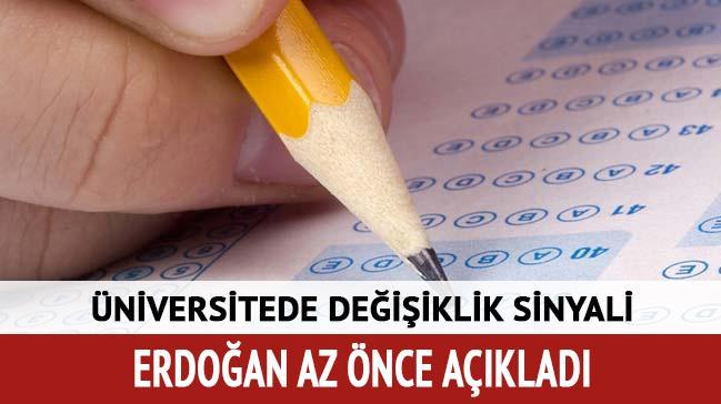 Cumhurbaşkanı Erdoğan: TEOG yerine nasıl bir sistem olacağı ile ilgili çalışmalarımız var