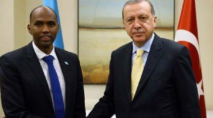 Cumhurbaşkanı Erdoğan Somali Başbakanı'nı kabul etti