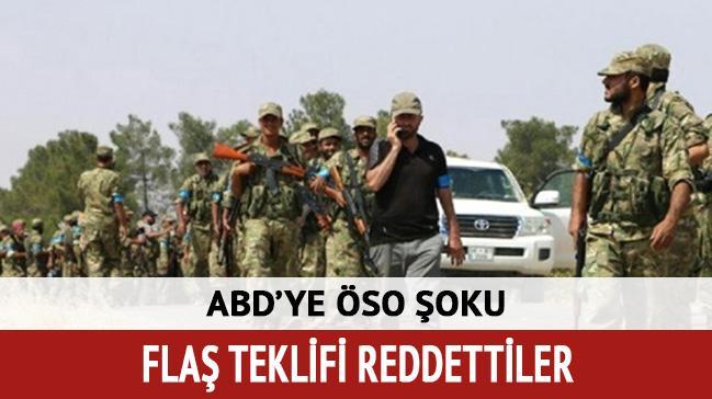 ÖSO, ABD'nin 'PKK/PYD ile saf tutma' teklifini reddetti