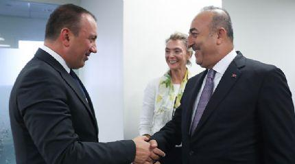 Çavuşoğlu, Bosna Hersek ve Hırvatistanlı mevkidaşlarıyla görüştü
