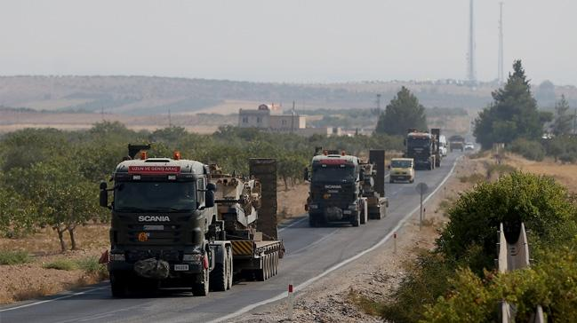 Cilvegözü'nde askeri araç yoğunluğu
