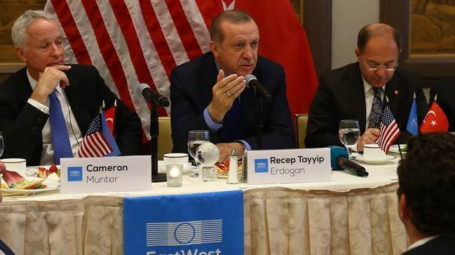 Erdoğan'dan 4 trilyon dolarlık çağrı!