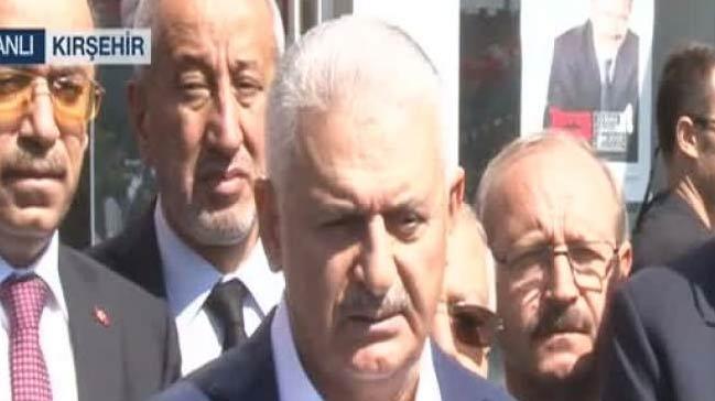 Başbakan Yıldım: Kuzey Irak açısından yanlışta ısrarın sonu hayırlı olmaz