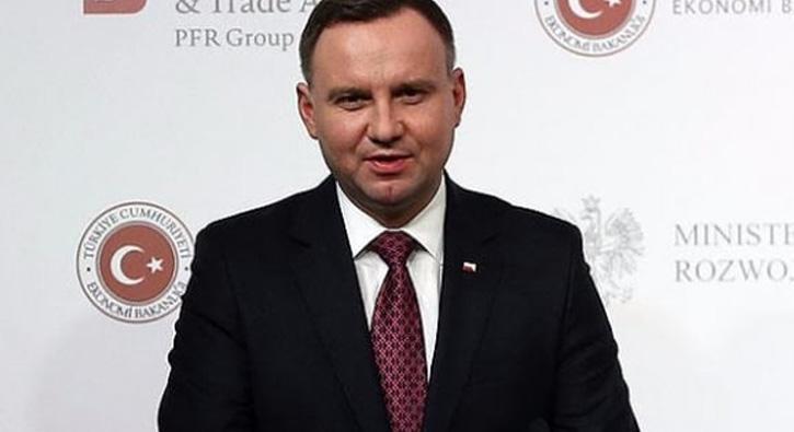 Polonya Cumhurbaşkanı Duda Türkiye ile ilişkilerimiz iyi yönde ilerliyor