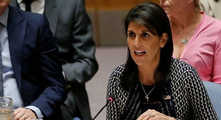 ABD BM Güvenlik Konseyi'nde İran'ı hedef aldı