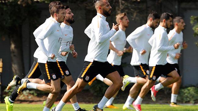 Galatasaray Fenerbahçe derbisi hazırlıklarını sürdürdü