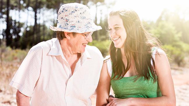 Osteoporoza karşı güneşe çıkın