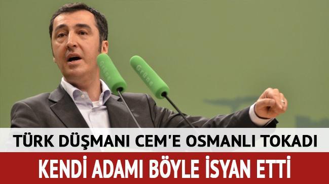 Türk düşmanı Cem'e Türkiye tokadı