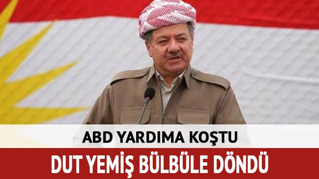 ABD Barzani'nın yardımına koştu
