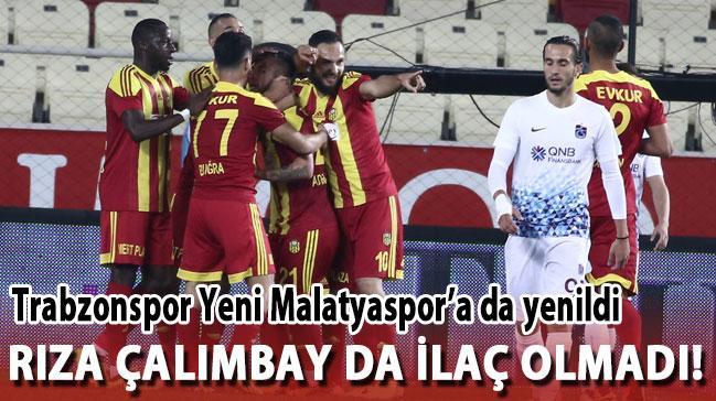 Trabzonspor'a Rıza Çalımbay da ilaç olmadı