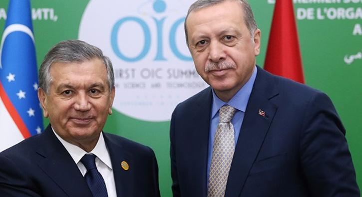 Özbekistan Cumhurbaşkanı Mirziyoyev'den Türkiye'ye ziyaret
