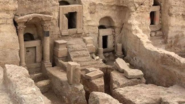 2 bin yıllık 133 kaya mezarı bulundu