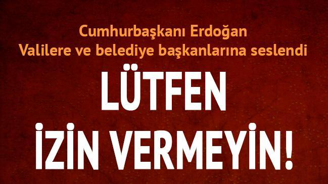 Cumhurbaşkanı Erdoğan belediye başkanlarına seslendi: Dikey yapılaşmaya izin vermeyin