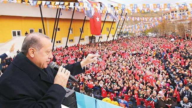 ''Mesele şahıs, parti değil hedef Türkiye'dir, millettir''