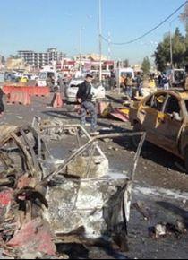 Kerkük'te patlama: 10 ölü 100 yaralı