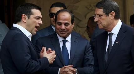 Kıbrıs Rum Yönetimi, Yunanistan ve Mısır'dan Doğu Akdeniz'de Türkiye'yi saf dışı bırakma zirvesi