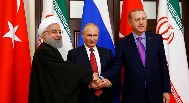 3 lider ortak açıklama yaptı: Suriye Ulusal Diyalog Kongresi'nin yapılması konusunda 3 ülke mutabık kaldı