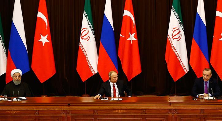 Cumhurbaşkanı Erdoğan iki liderin yanında net konuştu