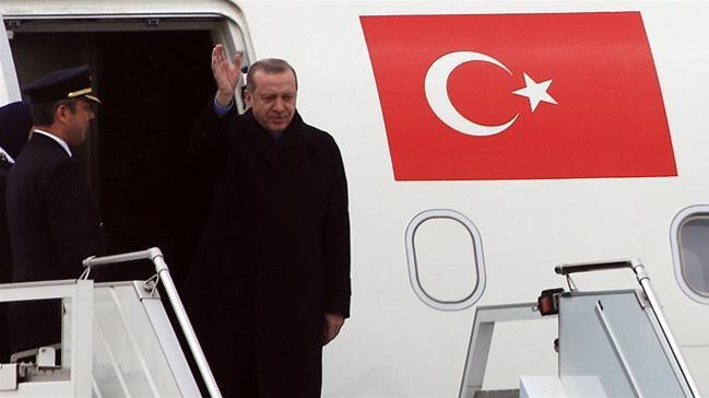 Cumhurbaşkanı Erdoğan Soçi'den ayrıldı