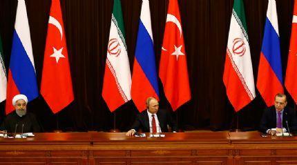 Soçi üçlü Suriye Zirvesi Ortak Bildirisi yayınlandı