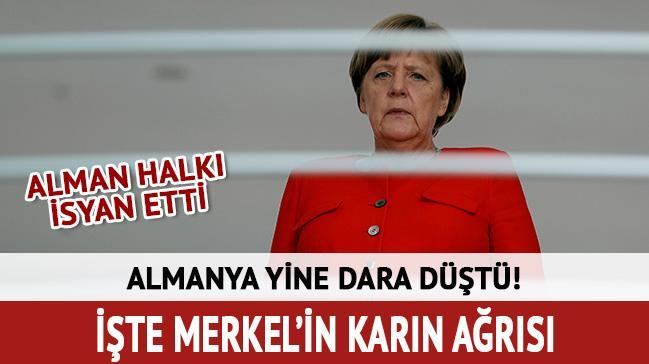 İşte Merkel'in karın ağrısı