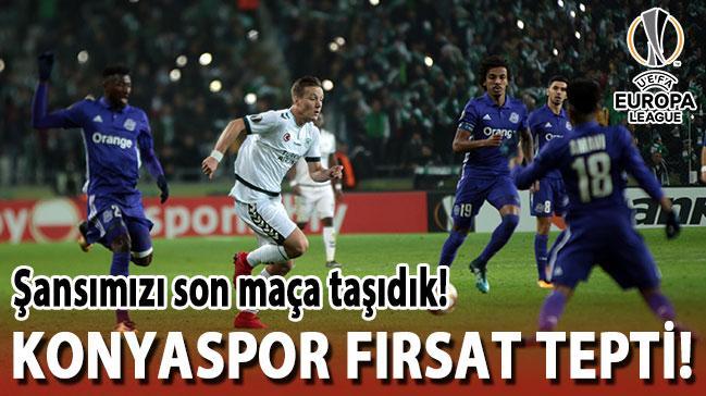 Atiker Konyaspor, Marsilya'yı elinden kaçırdı!