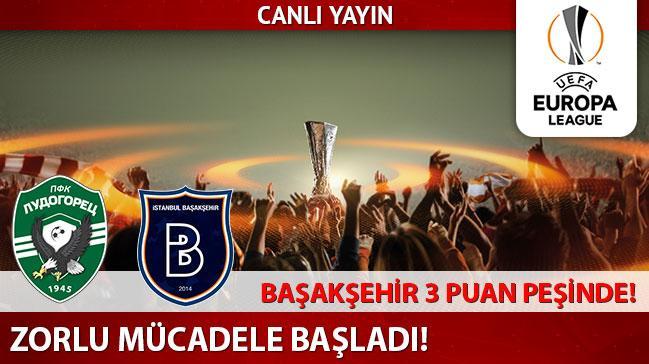 Ludogorets - Başakşehir (CANLI)