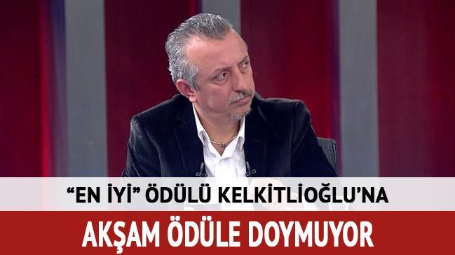 Yılın en iyi gazete yöneticisi ödülü Kelkitlioğlu'nun