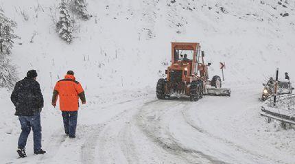 Kastamonu'da 81 köy yolu ulaşıma kapandı