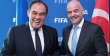FIFA Başkanı Infantino'dan  Beşiktaş'a övgü dolu sözler