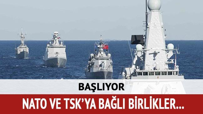 TSK ile NATO ortak tatbikatı başlıyor
