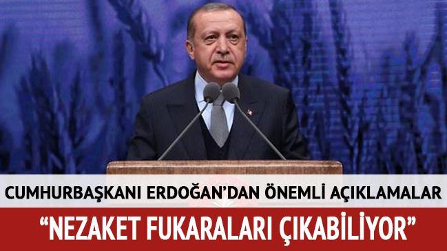 Cumhurbaşkanı Erdoğan 'Buğday' filminin galasında konuştu