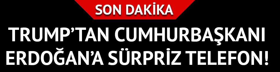Trump bugün Cumhurbaşkanı Erdoğan'la görüşecek