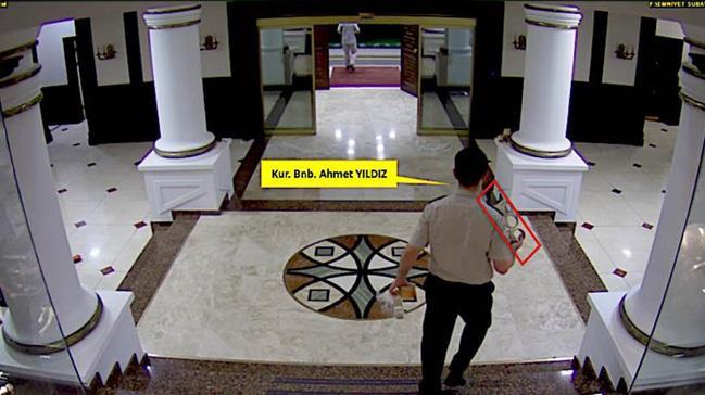 FETÖ'cünün kamera kayıtları ortaya çıktı! Yine de kabul etmedi