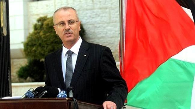 Filistin Başbakanı Hamdallah ABD'ye karşı Gazze ve Batı Şeria arasındaki