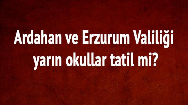 Erzurum+Ardahan+yar%C4%B1n+okullar+tatil+mi?+Son+dakika+kar+tatili+var+m%C4%B1+Valilik+a%C3%A7%C4%B1klamalar%C4%B1
