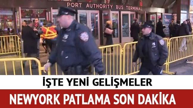 New'york patlama son dakika Newyork ta patlama nerede oldu