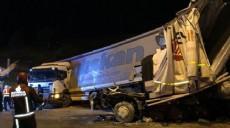 TEM otoyolunda kaza: Yaralılar var
