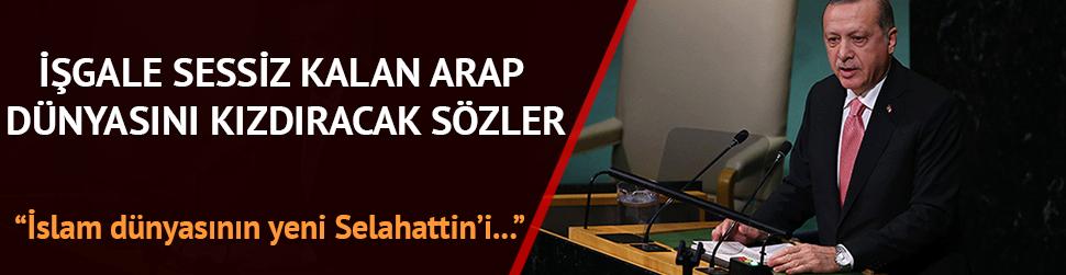 'Kudüs'ün yeni Selahaddin'i Erdoğan'